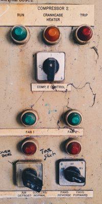 Machine switches
